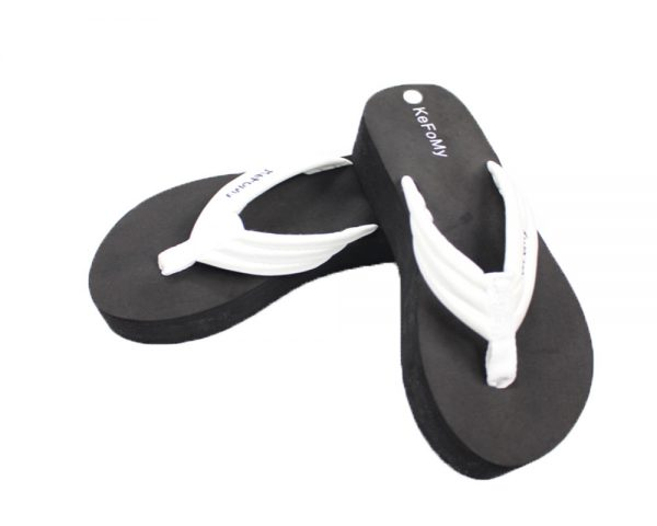 High heel wedge platform. Kefomy soft & comfortable sandals